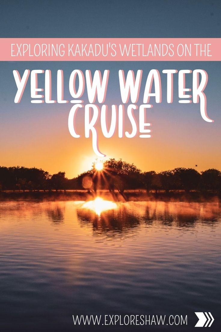 yellow water cruise