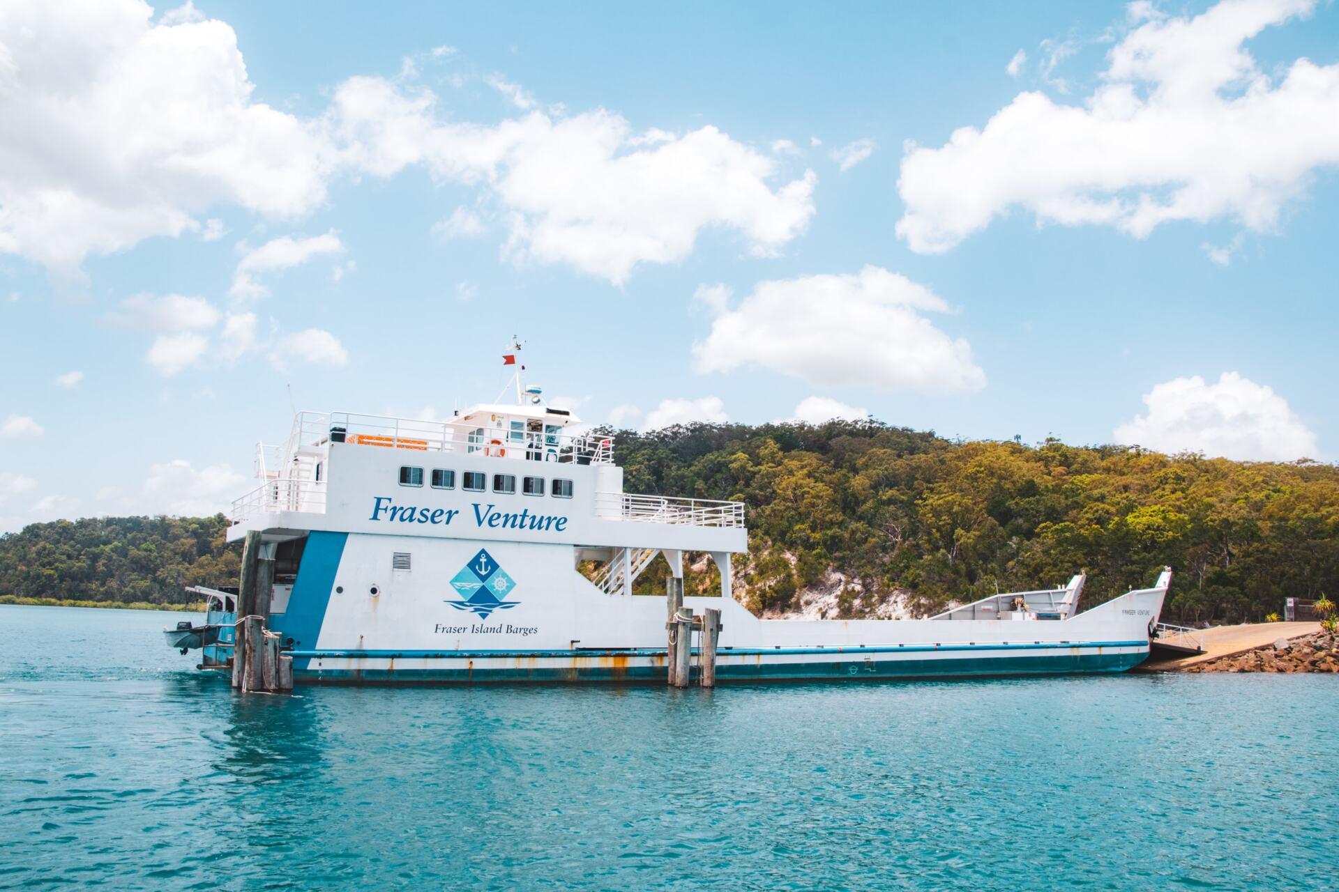 kingfisher bay ferry
